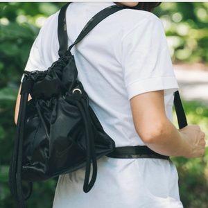 Nike Thea Top Load Backpack Black Camo Strap NWT